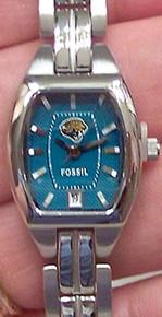 Jacksonville Jaguars jax jags Fossil Ladies Thre Hand Date Watch