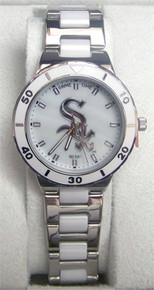 Chicago White Sox Pearl Watch Game Time MOP Ladies, womens MLB-PEA-CWS