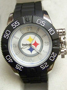 Pittsburgh Steelers Watch Mens Game Time Beast Watch NFL-BEA-PIT