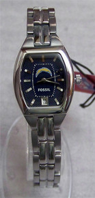 San Diego Chargers Fossil Watch Ladies Three Hand Date NFL1185