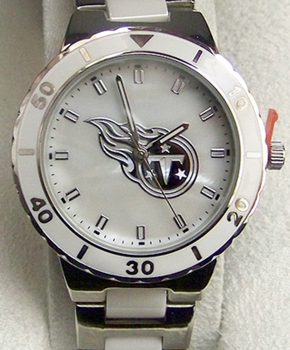 Tennessee Titans Pearl Watch Ladies Womens Game Time MOP Wristwatch. Price    69.95. Image 1 3b26a3357