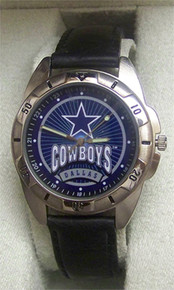 Dallas Cowboys Watch Fossil Mens Vintage 1996 Wristwatch Li-1460