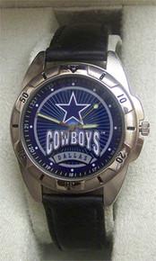 Dallas Cowboys Watch Fossil Mens Vintage 1996 Wristwatch Li-1460