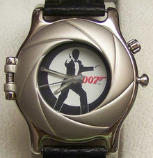 James Bond 007 Fossil Watch Li1637 Mens Limited Edition