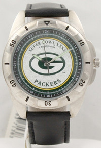 Green Bay Packers Watch Superbowl XXXI Fossil Mens Super Bowl