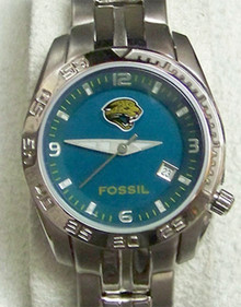 Jacksonville Jaguars Fossil Womens Sports watch with date NFL1137
