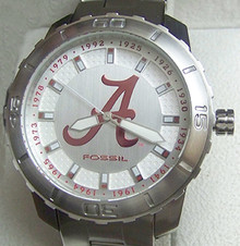 Alabama Crimson Tide Fossil Watch First 12 National Champions Watch