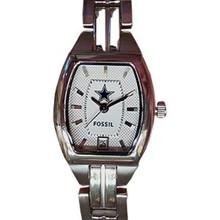Dallas Cowboys Fossil watch Ladies Three Hand Date Wristwatch
