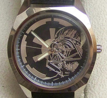 Fossil Star Wars Darth Vader Watch Set Li-1604 with Empire pin and Tin