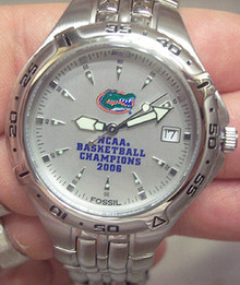 Florida Gators Fossil Watch 2006 NCAA Basketball Champions Mens New