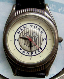 New York Yankees Fossil Watch Vintage 1927 World Series Champions