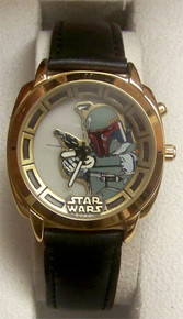 Star Wars Boba Fett Fossil Watch Gold Version Limited Edition of 1000
