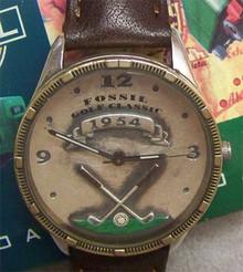 Fossil Golfer Watch Vintage Golf Classic 1954 mens wristwatch