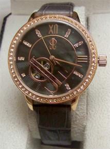 JLo Watch Automatic Rose Gold MOP Wristwatch Jennifer Lopez