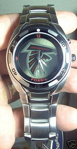 Atlanta Falcons Fossil Watch Mens Flashing logo Kaleido NFL 1017