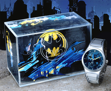 Fossil Batman Legend Watch Li2521 Mens Collectors Lmt. Ed.