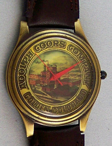 Fossil Adolph Coors Beer Watch Company Promo Logo PR-1025 LE 500 Total