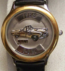 Ford Thunderbird 1955 T Bird Watch Fossil Relic LE Car wristwatch