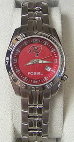 Tampa Bay Buccaneers Fossil Watch Womens Sports wristwatch NFL1150