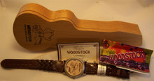 Woodstock Watch Music Festival Collectors wristwatch in Guitar Case