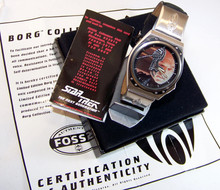 Star Trek Watch Captain Picard Borg Fossil Wristwatch Li1451
