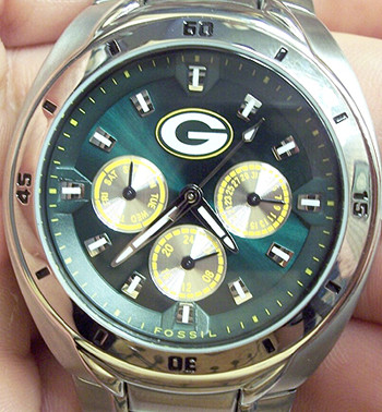 Green Bay Packers Watch Fossil Mens Multifunction