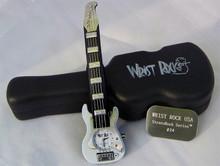 Wrist Rock Guitar Watch White novelty Fender Strat Style Wristwatch