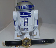 Star Wars Fossil Droids Watch Gold R2D2 and C3PO Limited Edition 500