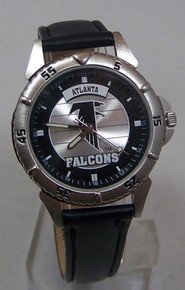 Atlanta Falcons Fossil Watch NFL 1997 Vintage Style with Fossil Tin