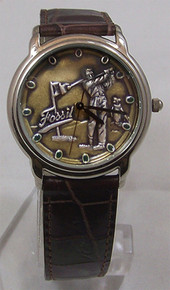 Fossil Golfer Watch Vintage Golf theme mens wristwatch SE-1014