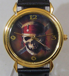 Pirates of the Caribbean Watch Walt Disney Collectors Wristwatch