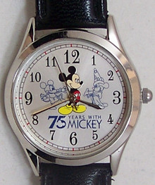 Mickey Mouse Watch Avon 75 Years With Mickey Walt Disney Wristwatch