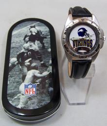 Minnesota Vikings Fossil Watch Vintage 1995 Mens Collectors Wristwatch