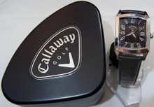 Callaway Watch Mens CY2091 Black Dress watch with Date Window