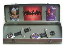 Fossil Batman and Mr. Freeze Dual Watch Set Limited Edition of 500