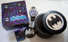 Fossil Batman Watch Colorized Mens Wristwatch Set with Case Li2054 New