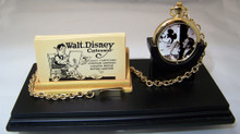 Mickey Mouse Walt Disney Cartoonist Pocket Watch Desk Clock DS-461