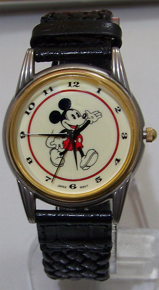 Mickey Mouse Watch Value >> Mickey Mouse Watch Vintage Early Mickey Disney Store Mickey Inc