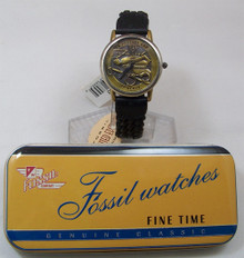 Fossil Police Watch Protect and Serve Wristwatch Policemen Lmt. Ed.