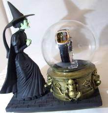 Wizard of Oz Watch Witch with Glass Globe Warner Bros. Limited Edition