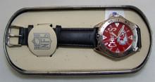 Kansas City Chiefs Fossil Watch Mens Vintage 1998 Wristwatch Li-1810
