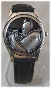 Batman Caped Crusader Watch Warner Bros. DC Comics Wristwatch Set