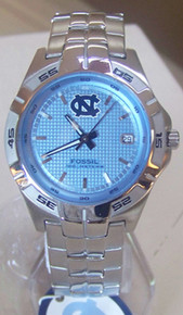 UNC North Carolina Tarheels Fossil watch Mens Three Hand Date Li2756