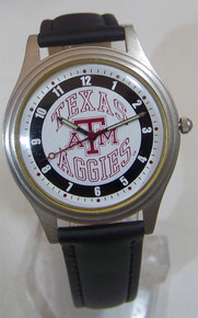 Texas A&M Aggies Watch Fossil Mens Vintage 1993 Wristwatch Li-1200