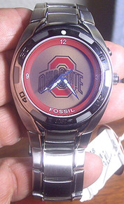Ohio State Buckeyes Fossil Watch mens Flashing logo Kaleido Li2318