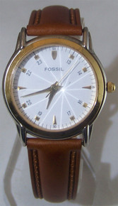 Fossil Prism Crystal Watch Vintage Collectible Wristwatch PC-9584