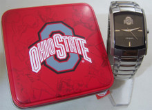 Fossil Ohio State Watch Buckeyes Mens Dress Regis Wristwatch Li2798