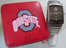Fossil Ohio State Watch Buckeyes Mens Dress Regis Wristwatch Li2798