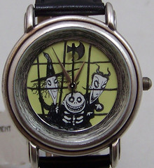 Nightmare Before Christmas Watch Lock Shock and Barrel Luminous Face