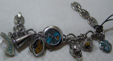 Jacksonville Jaguars Fossil Watch Ladies, Womens Charm Bracelet Watch